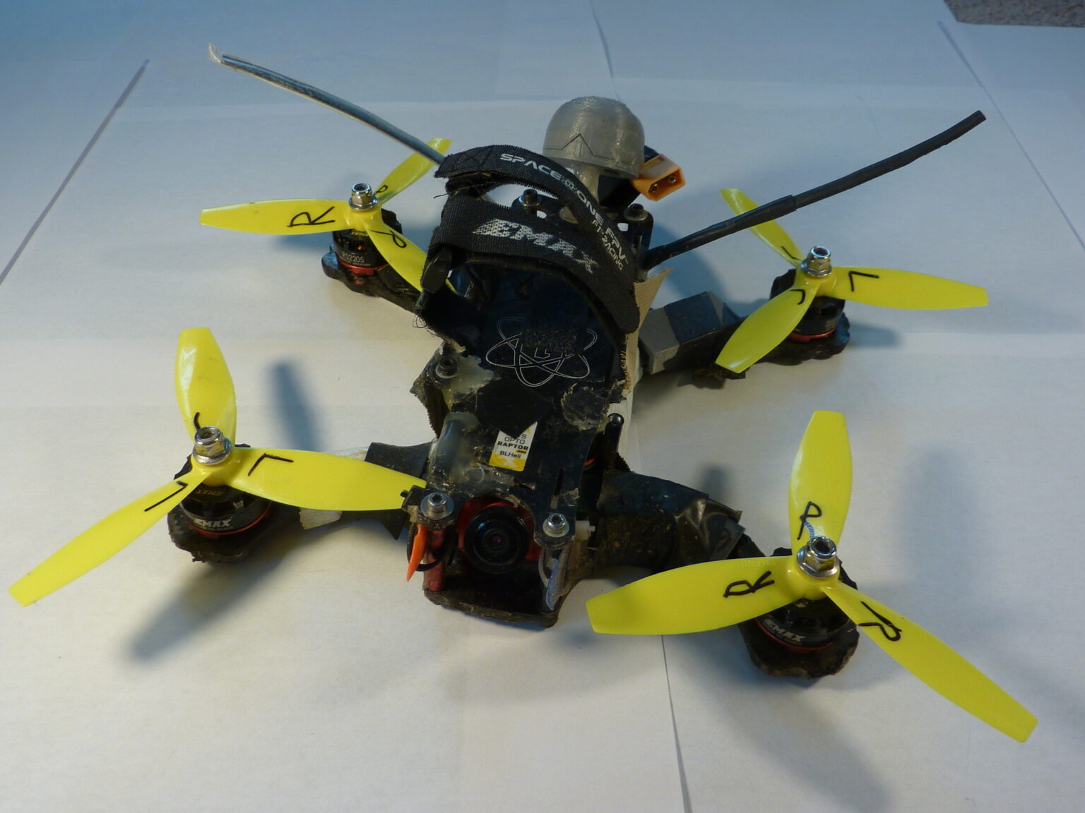 Current version racing drone
