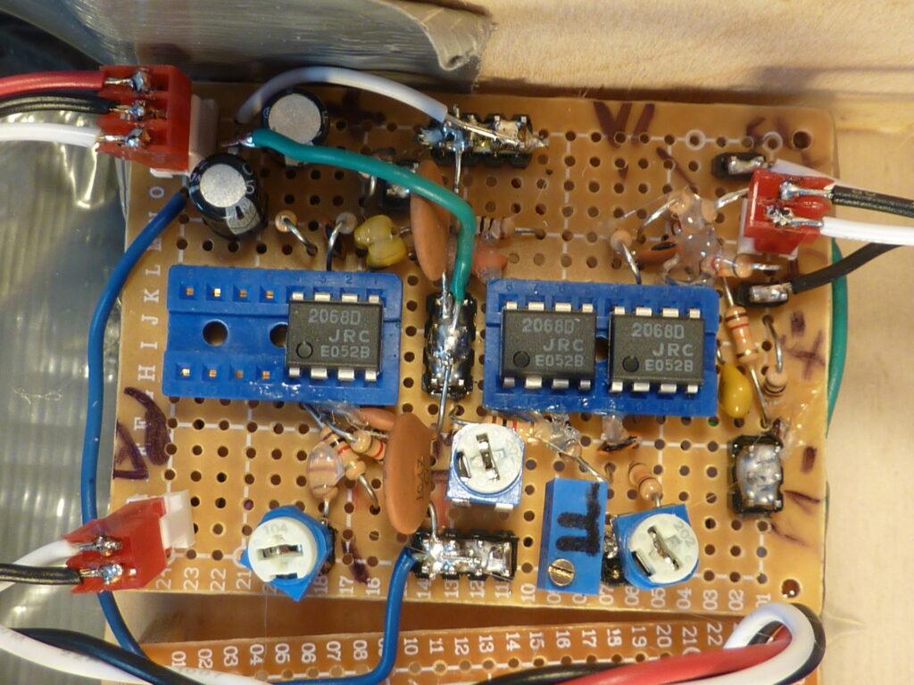 Galvo controller fb section closeup